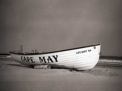 old shot of cape may.