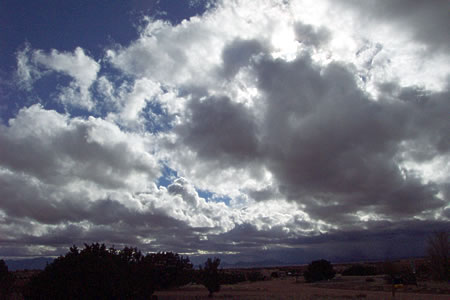 cloudage, santa fe, new mexico, april 23, 2003.