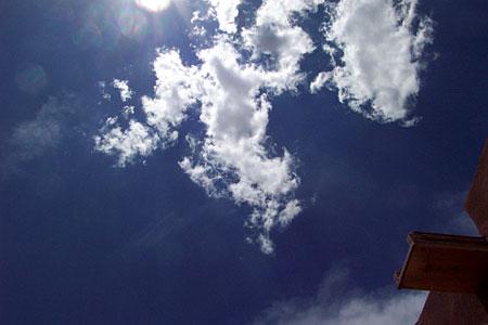 clouds, santa fe, new mexico, may 24, 2003.