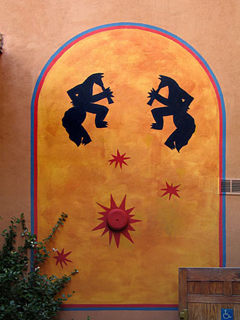 coyote cafe fire alarm, santa fe, new mexico, august 7, 2003, canon powershot g5.