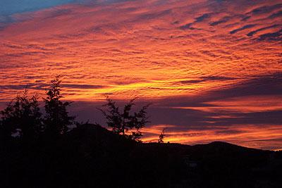 dawn, santa fe, october 12.