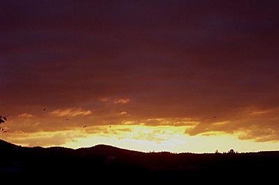 sunrise, santa fe.