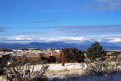 snow day, santa fe, new mexico, february 27, 2003.
