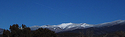 snow on the sangres, november 12