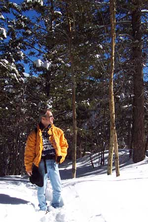 yours truly, santa fe national forest, new mexico, march 22, 2003.