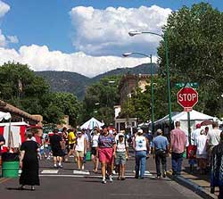 spanish market, santa fe, 2002.