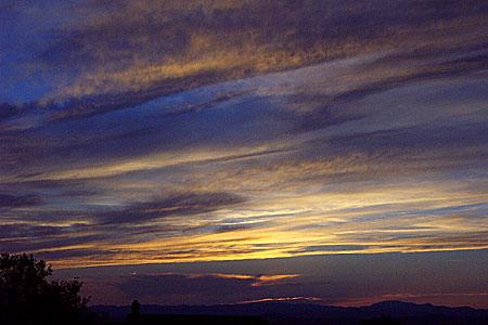 sunset, santa fe, new mexico, may 20, 2003.