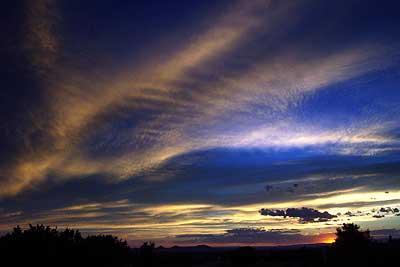 sunset, august 30.