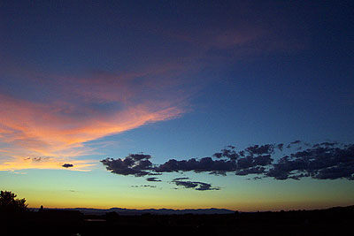 sunset, 8/9/02