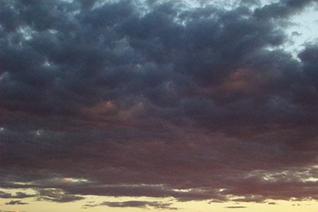 sunset, santa fe, new mexico, july 5, 2003.