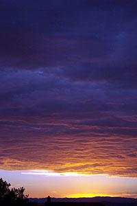 sunset, july 29